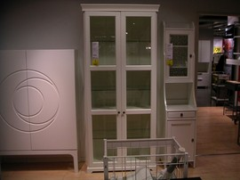 IKEA,食器戸棚,キャビネット,LIATORP